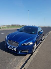 Jaguar XF Sport 2.2 Diesel, Start/Stop, Privacy Glass in Rear, Silver Grill, and Wheels, Park Aid.