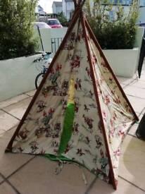 Play tent (Cath Kidston cowboy print)