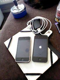 hi i have 2 apple iphones