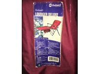 Outwell Folding Lounger with Bag