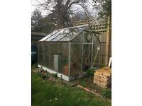 FREE Aluminium and Glass GREENHOUSE