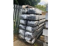 Steel Palisade Pales 2470mm long Triple Pointed @ £2.40 each.