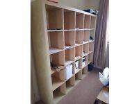 Ikea 5x5 shelf, bookcase storage unit