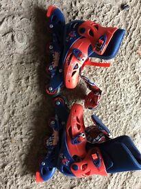 Children's Spider-Man's skates