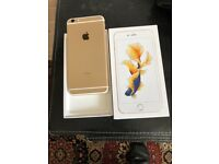 Apples IPhone 6s Plus 128g unlocked gold very nice with receipt