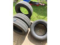 Nissan Navara NP300 set of 4 Tyres 255/60R18