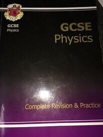 AQA MATHS AND PHYSICS GCSE REVISION GUIDES (BRAND NEW!!)