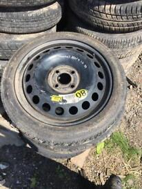 Vauxhall Astra 2006 1.6 spare tyre