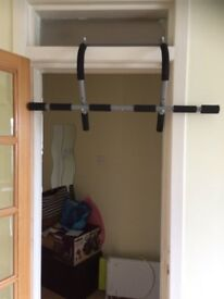 In Packaging Brand New Pull Up Bar For Indoor Exercising