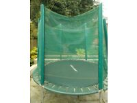 Trampoline 8 ft very well maintained. £50 collection only