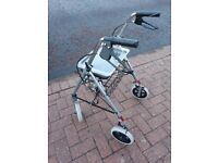 (As New Used Once) Rollator Mobility Walking Aid / Stroller Walker