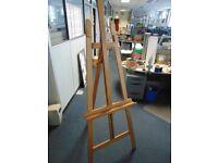 Solid Beech Artist's Easel. 2m tall
