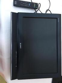 19' SONY LCD DIGITAL TV WITH CANTILEVER BRACKET