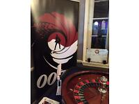 Fun Casino Hire Roulette-Blackjack-3 Card Poker