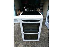 Zanussi ZCV551MW Double Electric Cooker