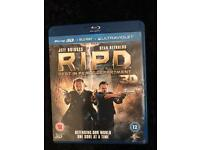 R.I.P.D blu Ray 3D movie