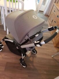 Bugaboo bee grey melange plus extras