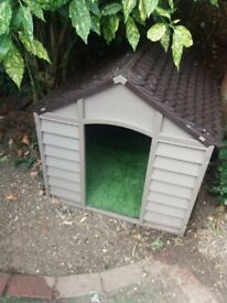 BRAND NEW KENNEL.COST £50 2 weeks ago