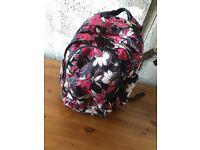 Roxy rucksack with double zips