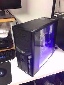 Media Computer PC (Quad Core, 16GB RAM, 2TB, GT 210) minecraft machine