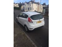 Ford Fiesta 1.25 Style 5 door hatch back, white. Very good condition, new job forces sale.