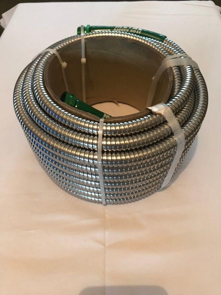 Metal Garden Hoses 50 Ft - The Original 304 Stainless Steel | in ...