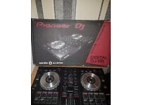 Pioneer dj controller with active monitors