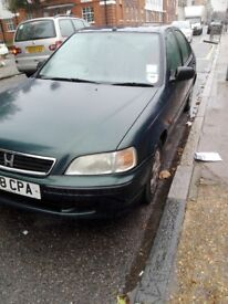 Honda Civic 1.39, 5 Door, Low Milage, 1 Yr MOT, Honda Service History, Very Good and Reliable Car