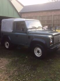 Rare low mileage Defender 90. Immaculate condition