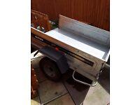 Daxara 5x3 tipper trailer