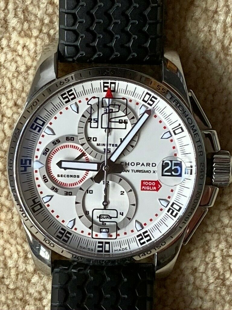 Chopard Mille Miglia Chronometer – Gran Turismo Model 8489 – 2008 Competitor - watch picture 1