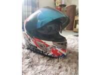 Nitro motorbike helmet size m in new condition