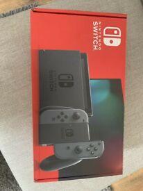 New Nintendo Switch v2 Grey.