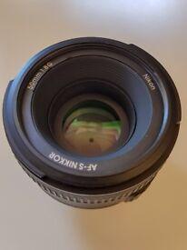 Nikon Nikkor AF-S 50mm 1.8g (f/1.8 G)