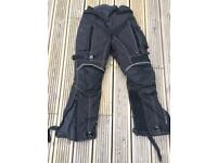 Motorcycle Trousers Frank Thomas Size Small