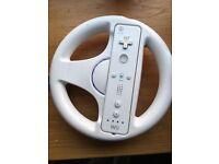 Official Nintendo Wii racing wheel
