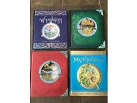 Fantasy books from the 'ology' series.