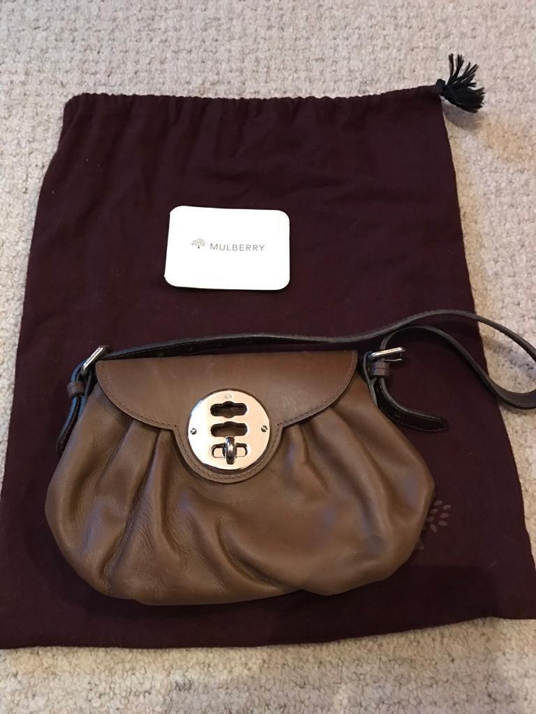 d036795df3 Genuine Mulberry clutch bag