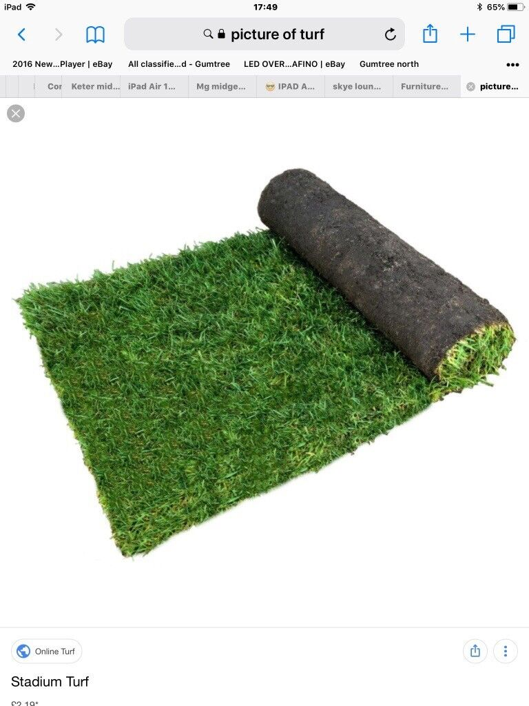 1 Square Yard Of Turf FREE FREE