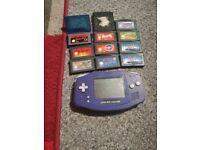 Gameboy Advance Bundle: Console & Games Lot