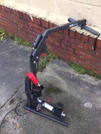 Wheel chair mobility hoist