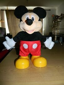 Dance star Mickey Mouse