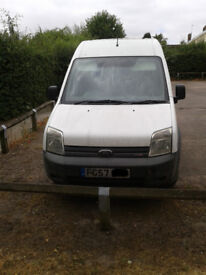 Ford Transit Connect T230 LX90. LWB hi-top, 57plate