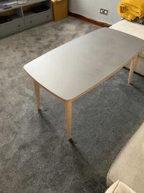 Grey/Wood IKEA coffee table for sale