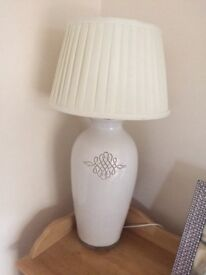 Large modern lamp stand/shade
