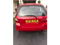 06 HONDA JAZZ 1.2 LITRE PETROL**FIRST TO SEE AND DRIVE WILL BUY**MOT 27/9/18** 5 SEATER FAMILY CAR**