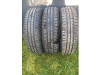 3x contiEcocontact 3 tyres 185 /70 /R14 corsa