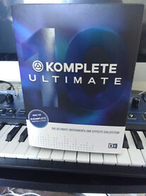 Native Instruments Komplete 10 Ultimate - full version