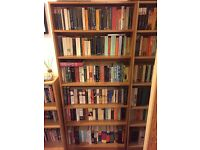 2 x free standing bookshelves, used but in good condition, £15 each, collection from South Ealing