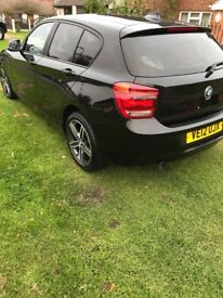 12 plate black 1 series excellent condition lady owner